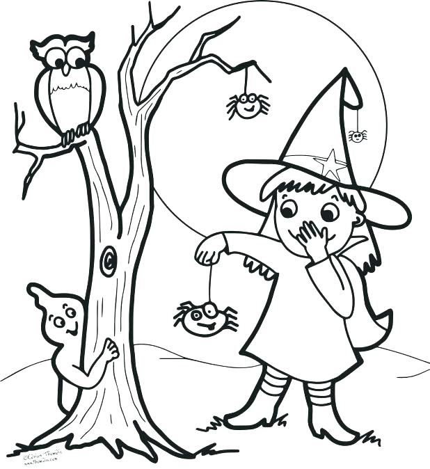 618x674 Coloring Pages Witches Witch Face Coloring Pages Scary Clown