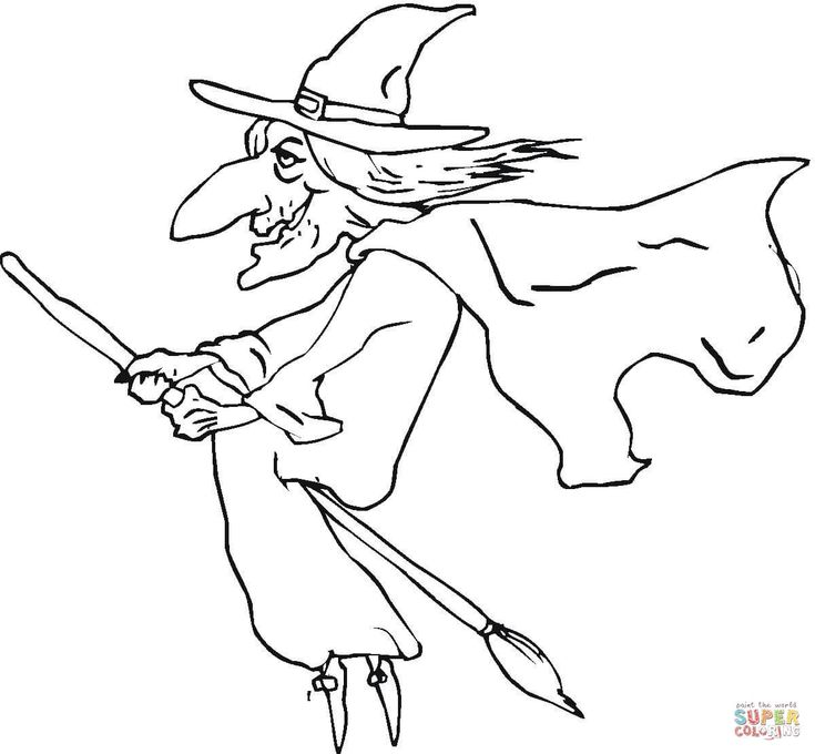735x680 Best Witch Coloring Pages Images On Witch, Bruges