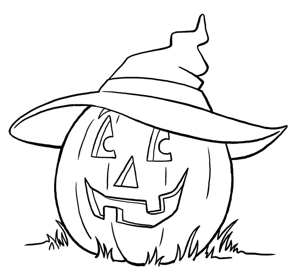 1024x965 Printable Witch Coloring Pages For Kids Free Adults Cute Halloween
