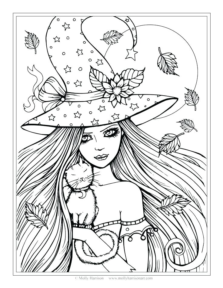 736x952 Witch Coloring Page Coloring Pages Witch Coloring Page Coloring