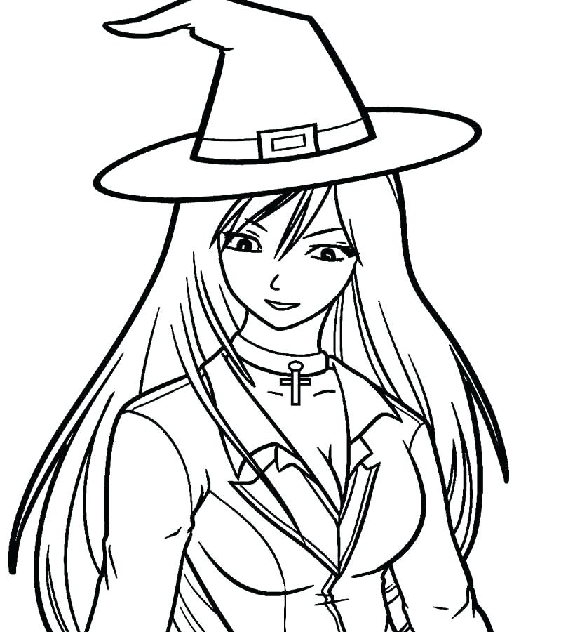 800x900 Witches Coloring Pages Owl Witch Coloring Page Halloween Witches
