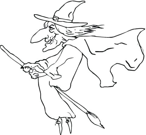 480x444 Halloween Themed Coloring Pages Coloring Pages For Preschoolers