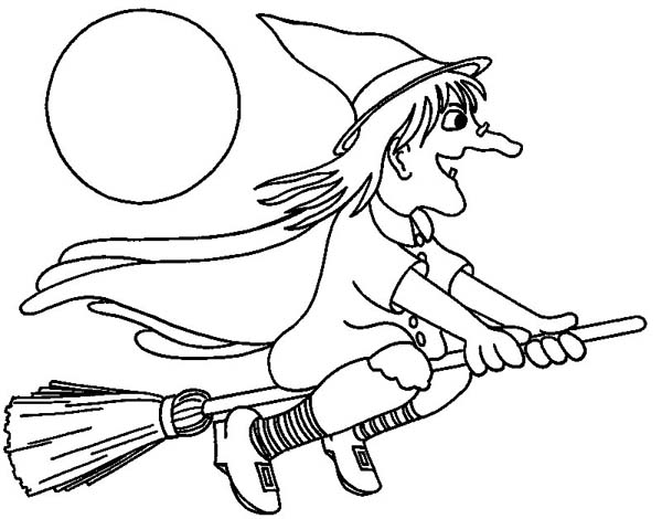 600x470 Coloring Pages Coloring Pages Witches