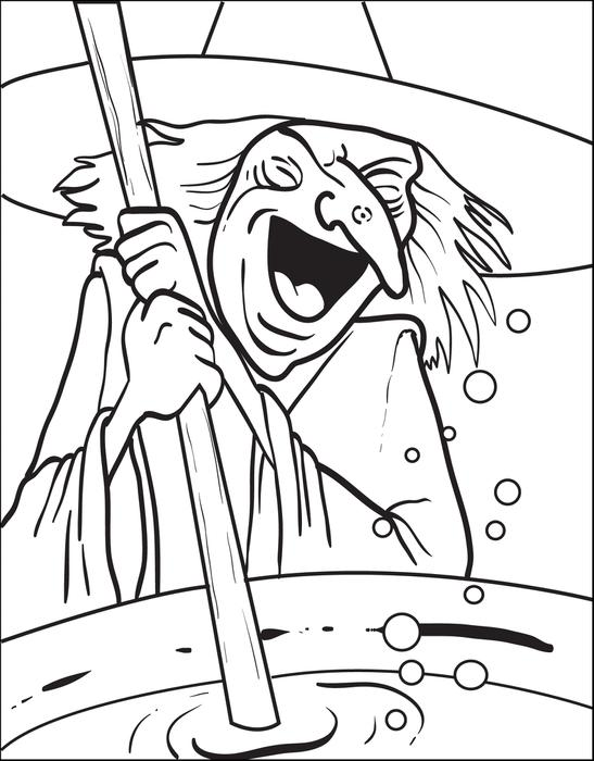 547x700 Witch Coloring Pages Printables To Color Online For Halloween