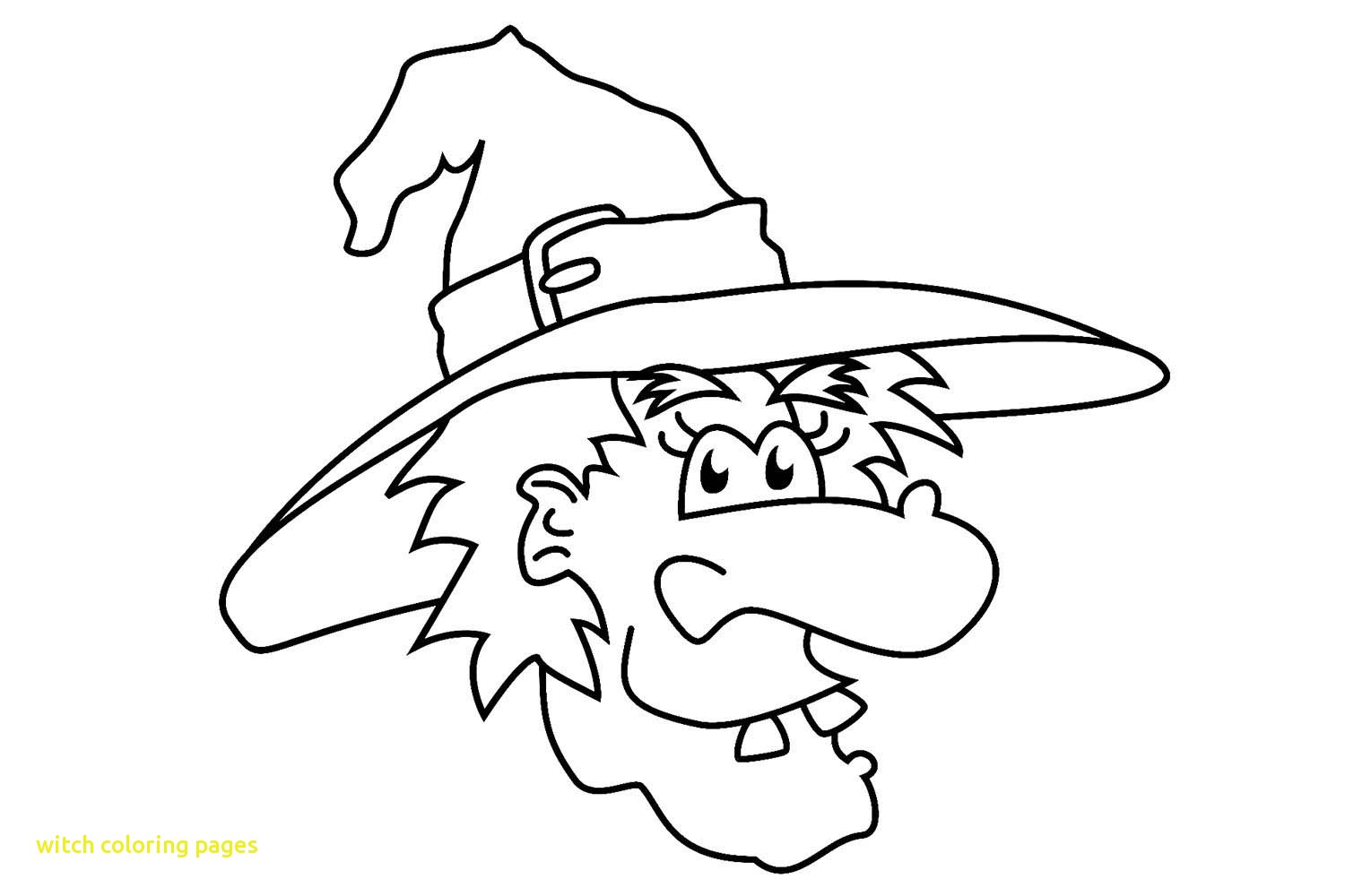 1500x1000 Witch Coloring Pages With Printable Witch Coloring Pages
