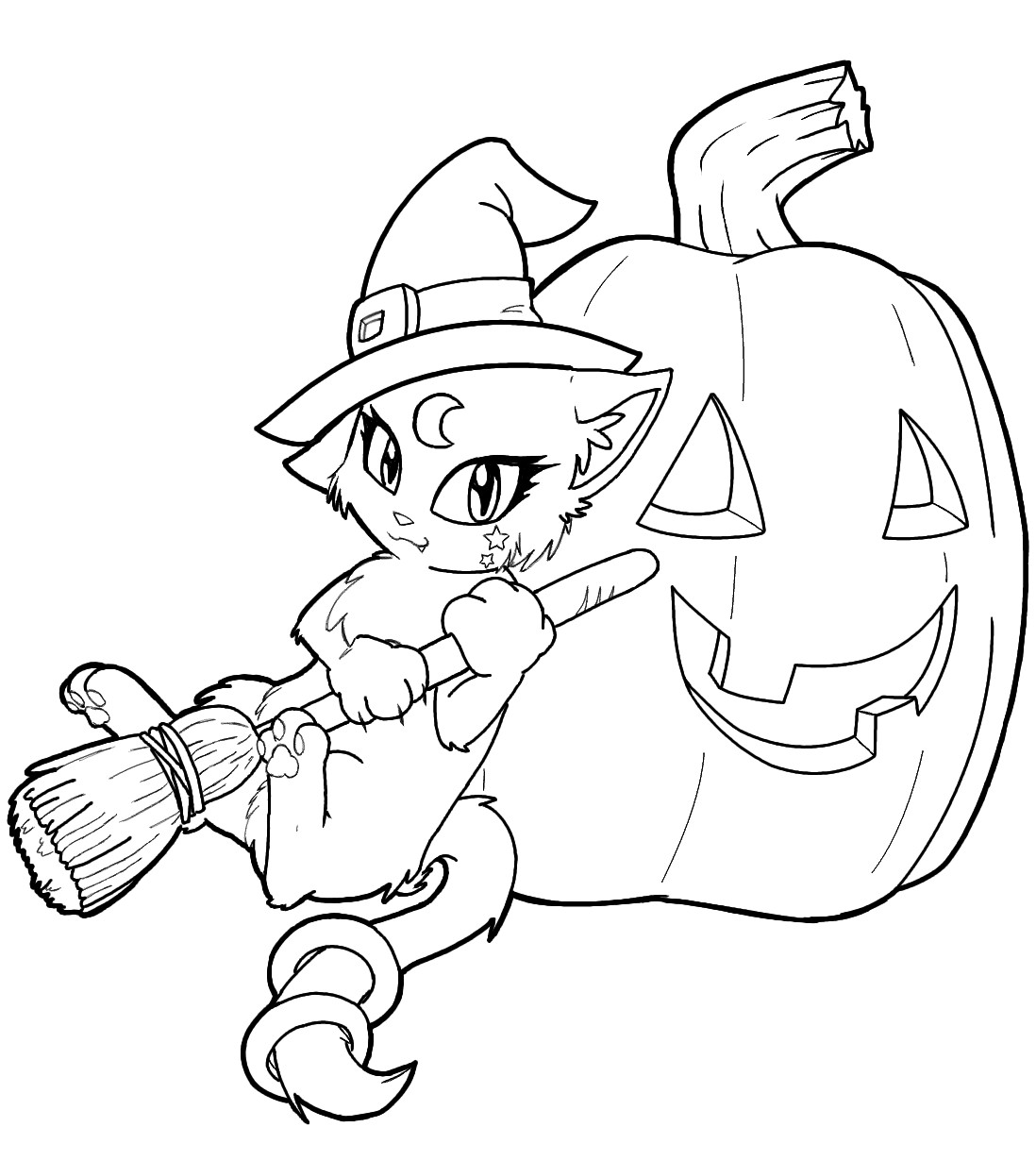 1098x1230 Free Printable Witch Coloring Pages For Kids Striking Acpra