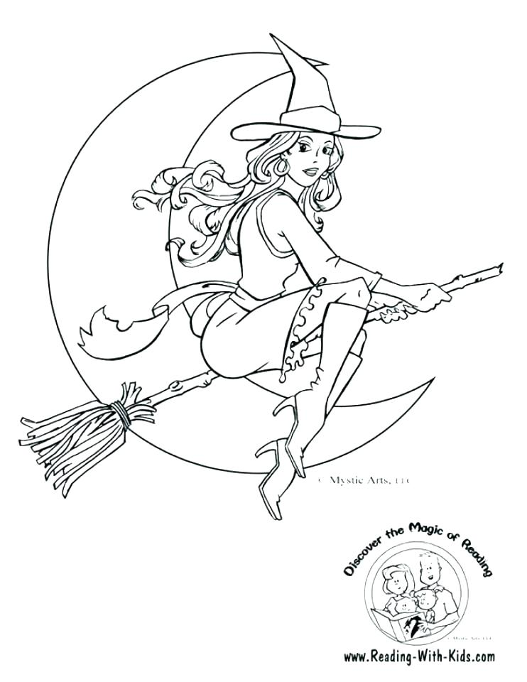 742x960 Witch Hat Coloring Page Hat Colouring Page Witch Hat Colouring