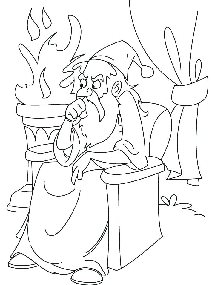 720x954 Wizard Coloring Page Coloring Pages Wizard Of Oz Plus Coloring