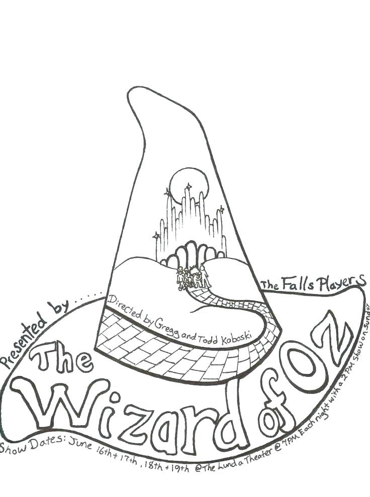 736x989 Wizard Coloring Page Wizard Of Oz Coloring Page Wizard Coloring