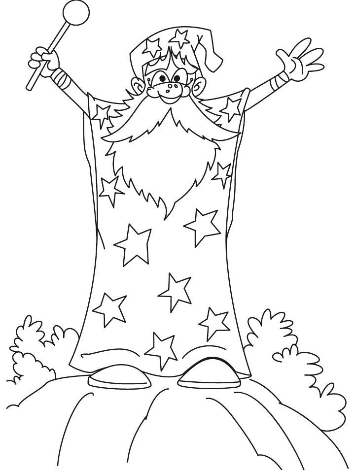 720x954 Wonder Wizard Coloring Pages Download Free Wonder Wizard Wonder