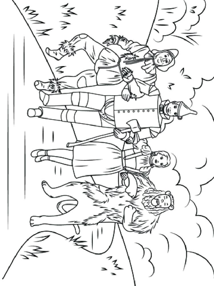 Wizard Of Oz Coloring Pages Emerald City At Getdrawings Com Free