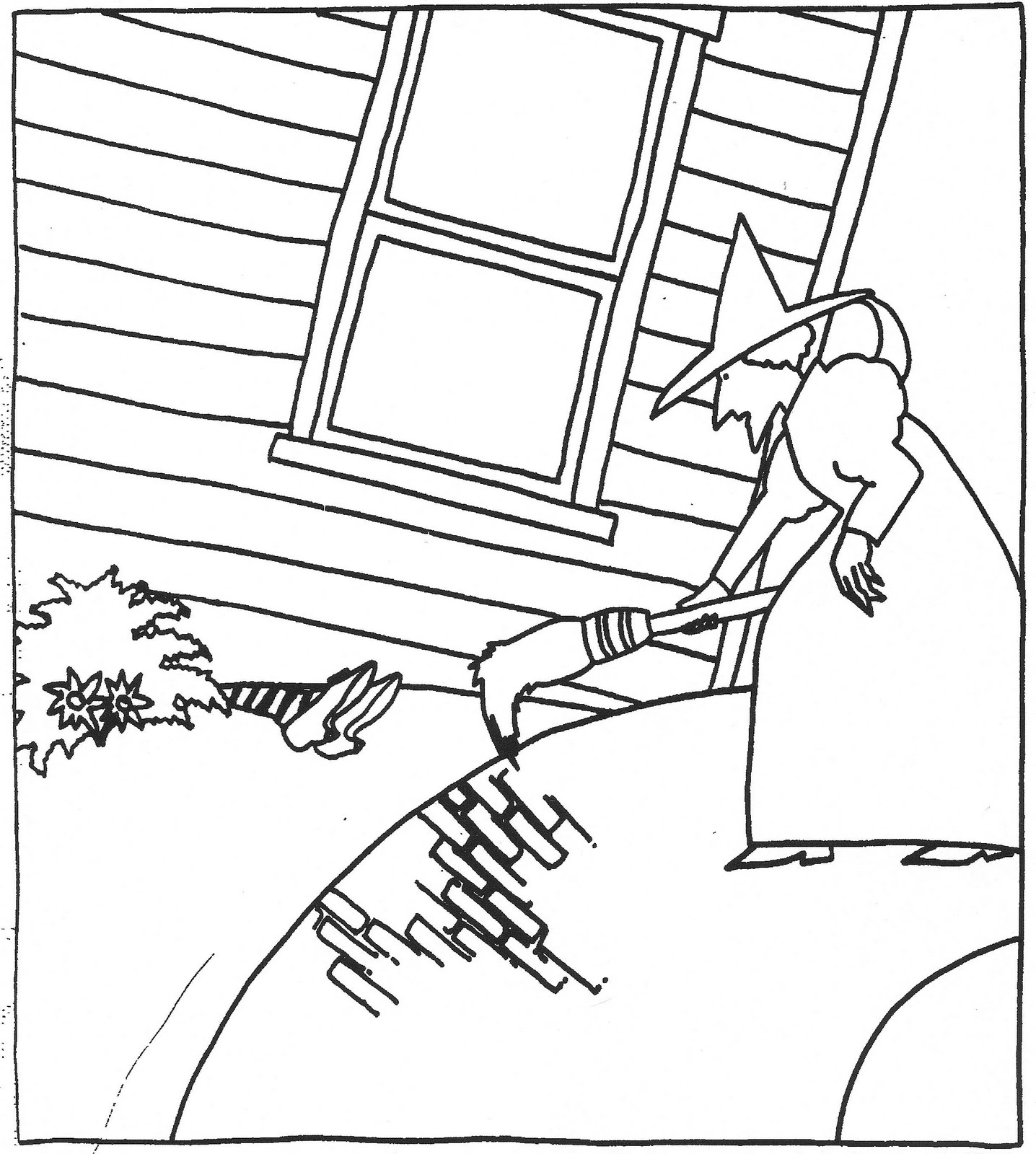 Wizard Of Oz Coloring Pages Free