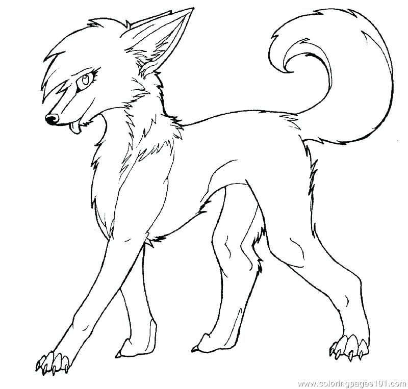 800x763 Anime Wolf Coloring Pages Wolf Coloring Pages Wolf Color Pages