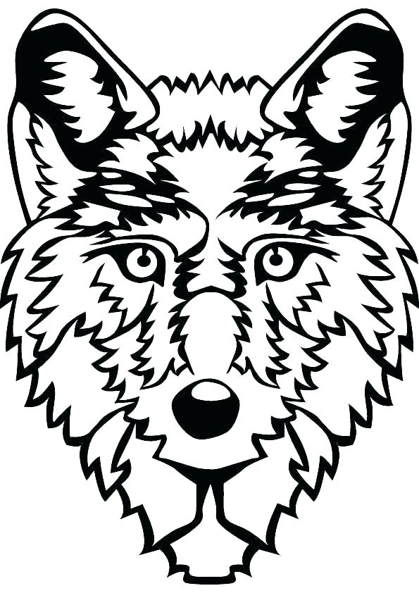 595x842 Wolves Coloring Pages Drawn Howling Wolf Mother Wolf Free