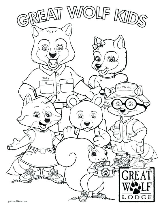 576x720 Clawdeen Coloring Pages Wolf Color Page Wolf Coloring Pages Great