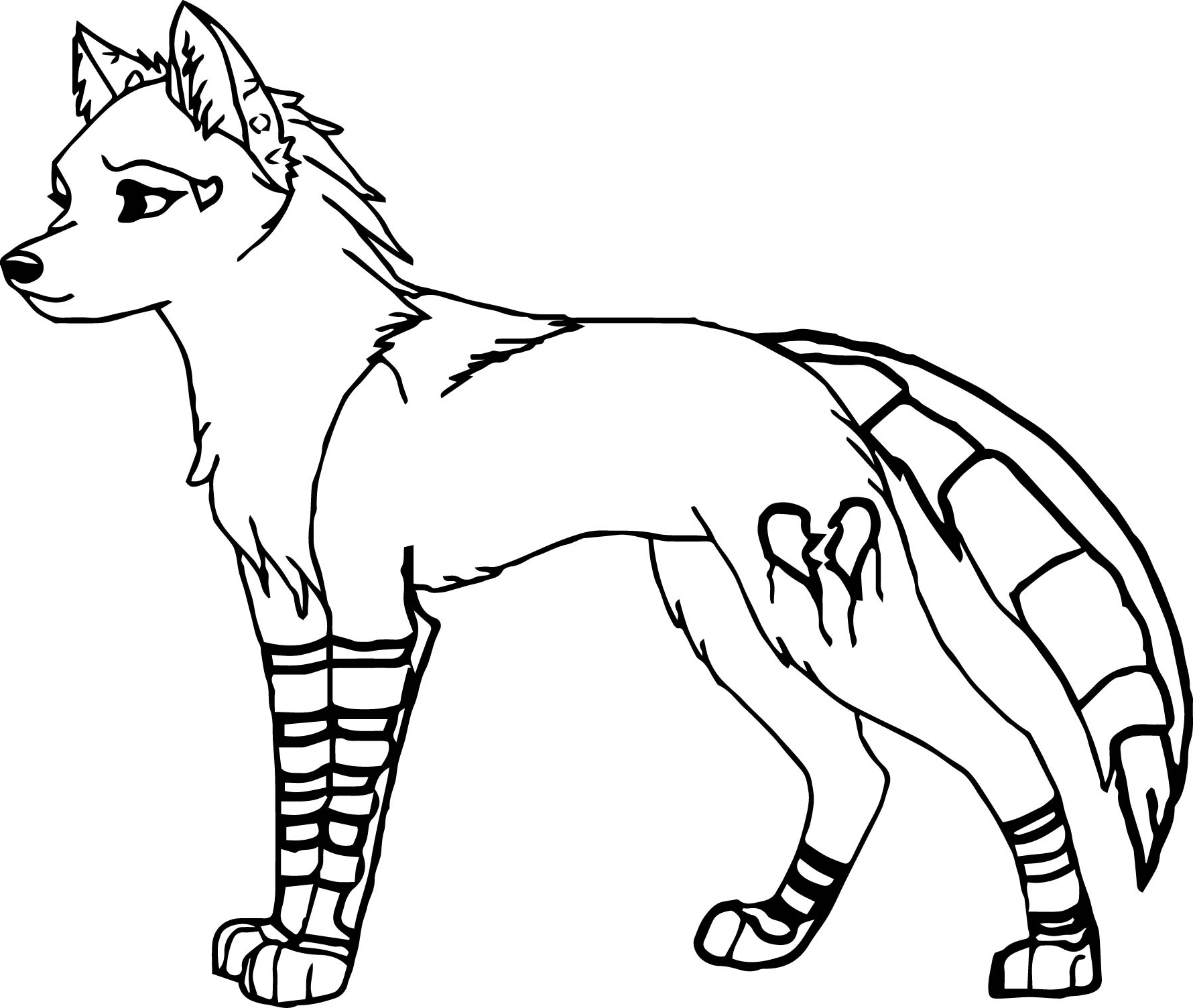 1780x1504 Free Wolf Coloring Pages Collection