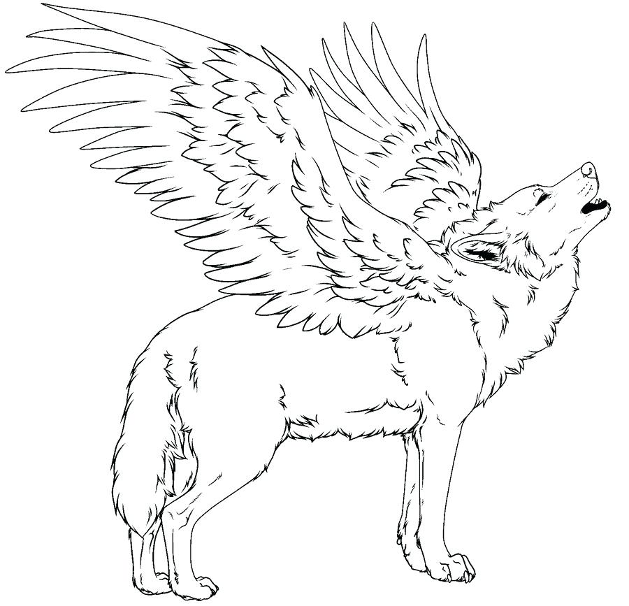 Realistic Wolf Coloring Pages - Coloring Pages 2019