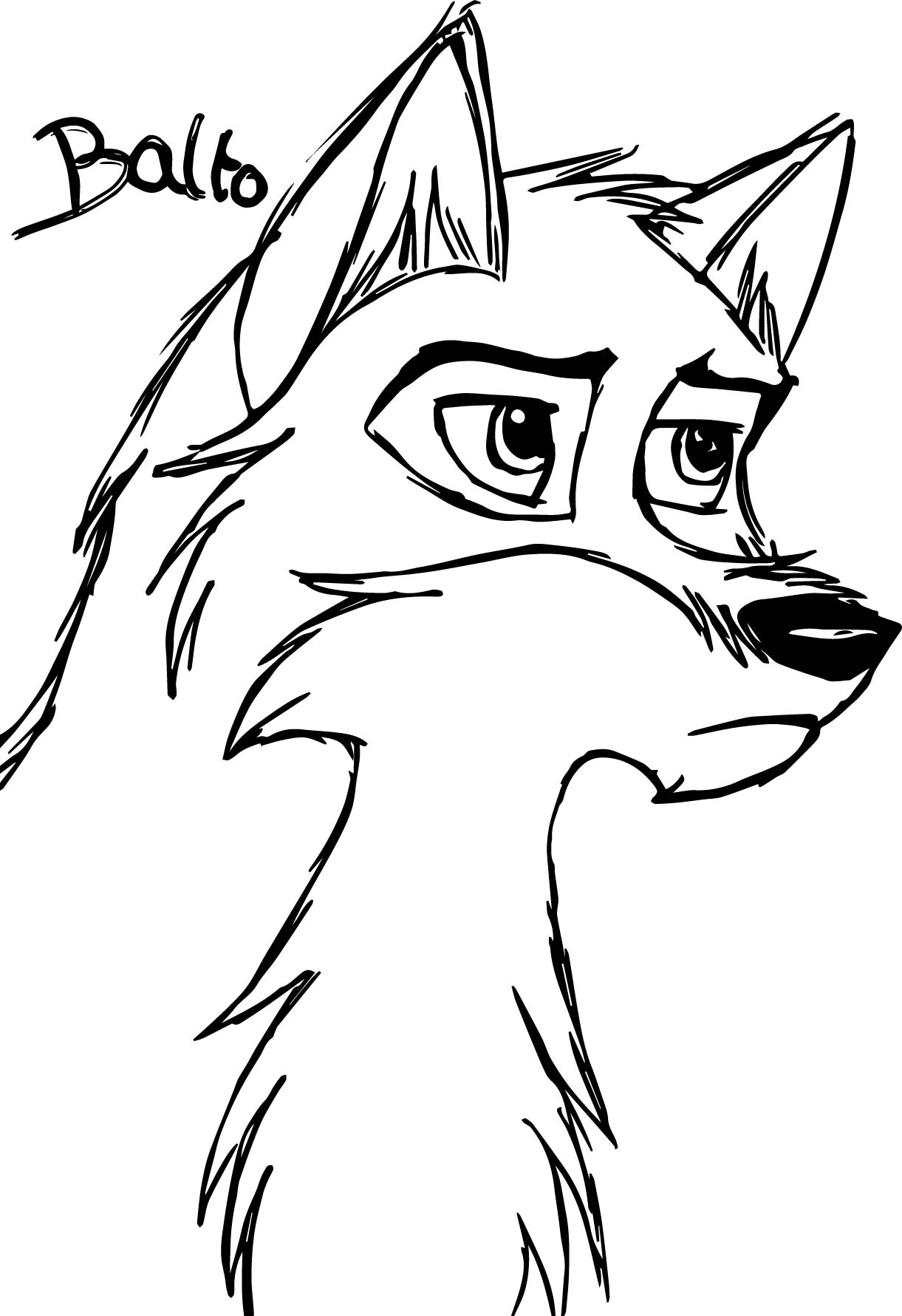 1221x1781 Printable Free Wolf Coloring Pages For Adults General Animal Jam