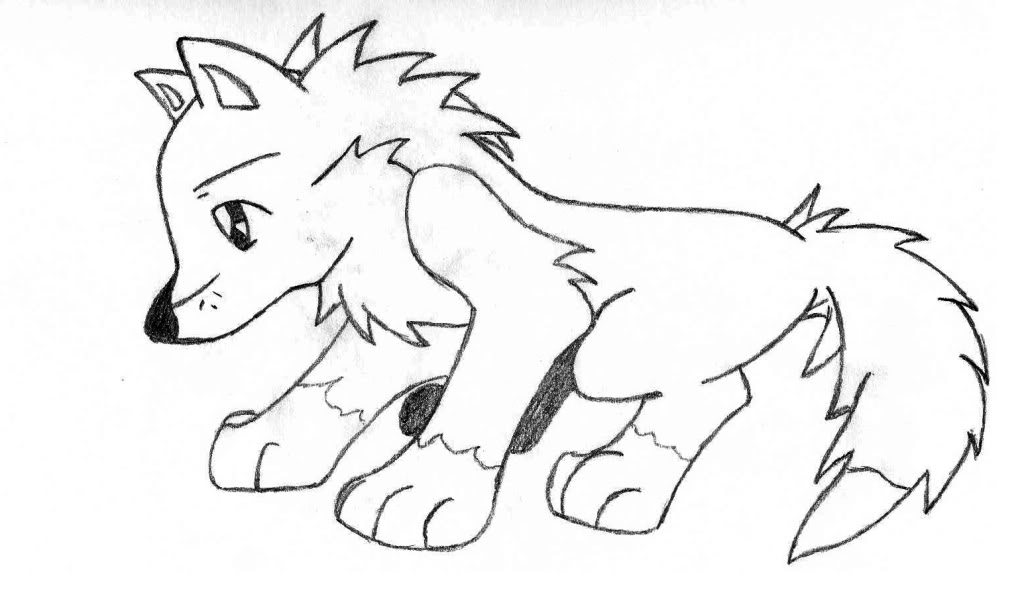 1024x589 Anime Wolf Coloring Pages