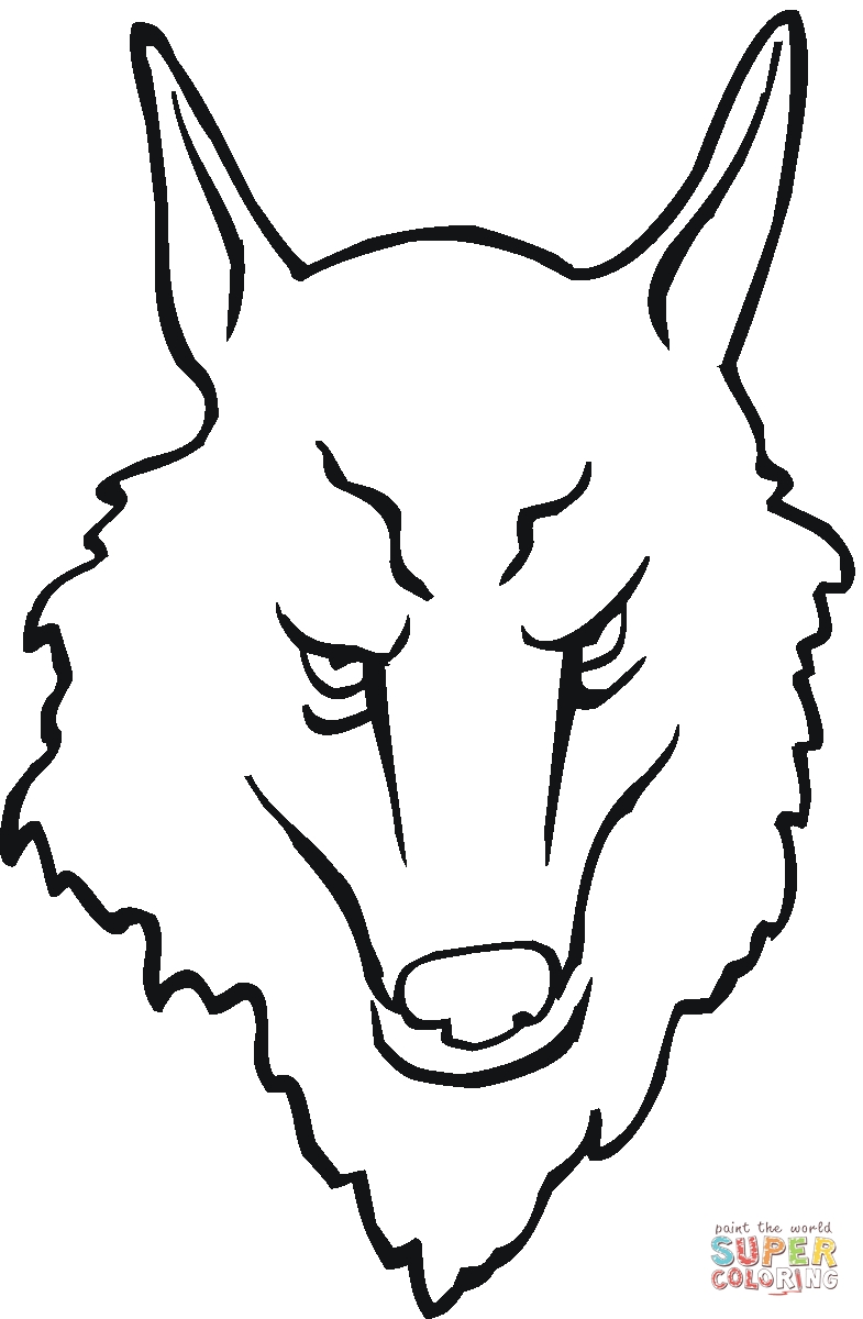 785x1200 New Free Printable Coloring Pages Of Wolf Faces Collection Free
