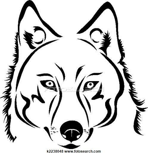 497x520 Wolf Stock Illustration Images Wolf Illustrations Available