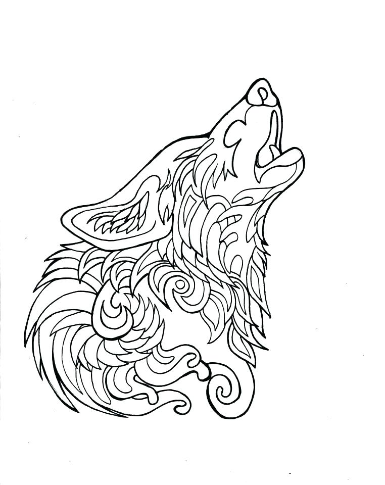 762x960 Coloring Pages Wolf Wolf Mandala Coloring Pages Printable To Cure