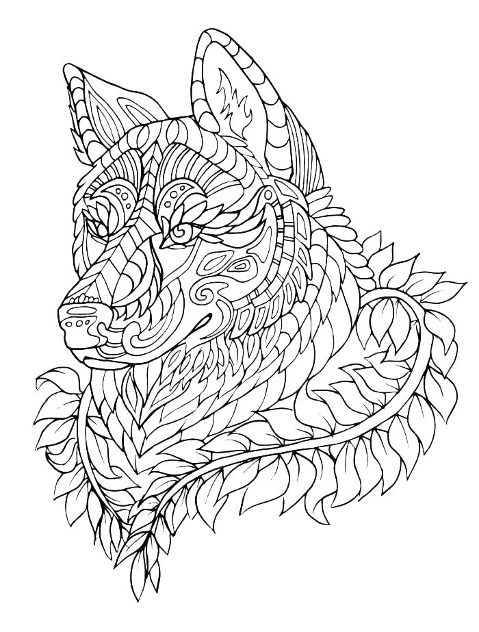 700x923 Anime Wolf Coloring Pages Coloring Page Wolf Wolf Coloring Pages