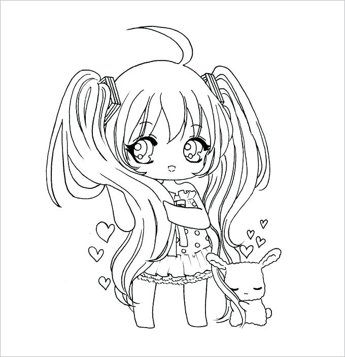 680x703 Cute Girl Coloring Pages Cute Chibi Coloring Pages Cute Wolf Girl