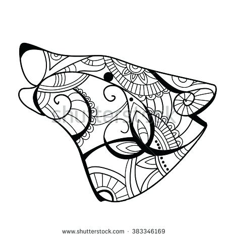 450x470 Wolf Coloring Book Wolf Head Wolf Coloring Book Wolf Coloring Page