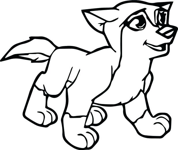 618x522 Wolf Coloring Pages Wolf Printable Coloring Pages Free Printable