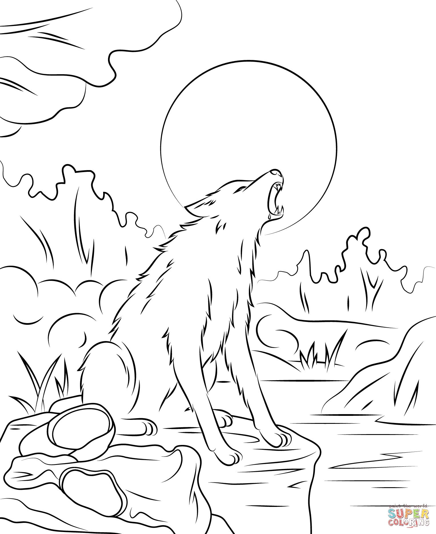 1526x1871 Fresh Werewolf Howling