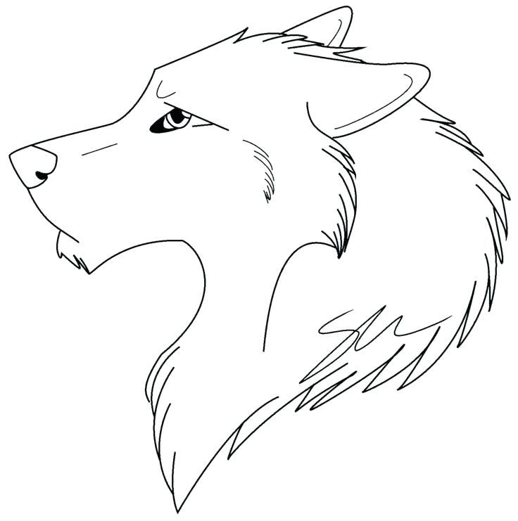 736x741 Howling Wolf Coloring Pages Coloring Pages Of Wolfs Pin Wolf