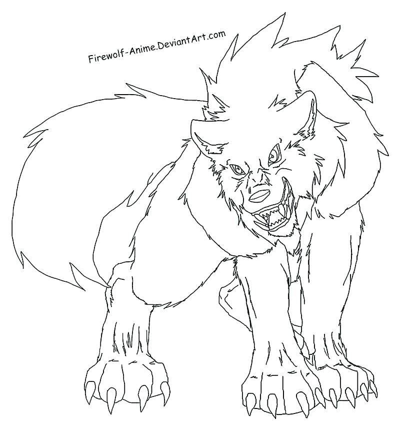 800x853 Howling Wolf Coloring Pages Free To Color Only Howling Wolf Line