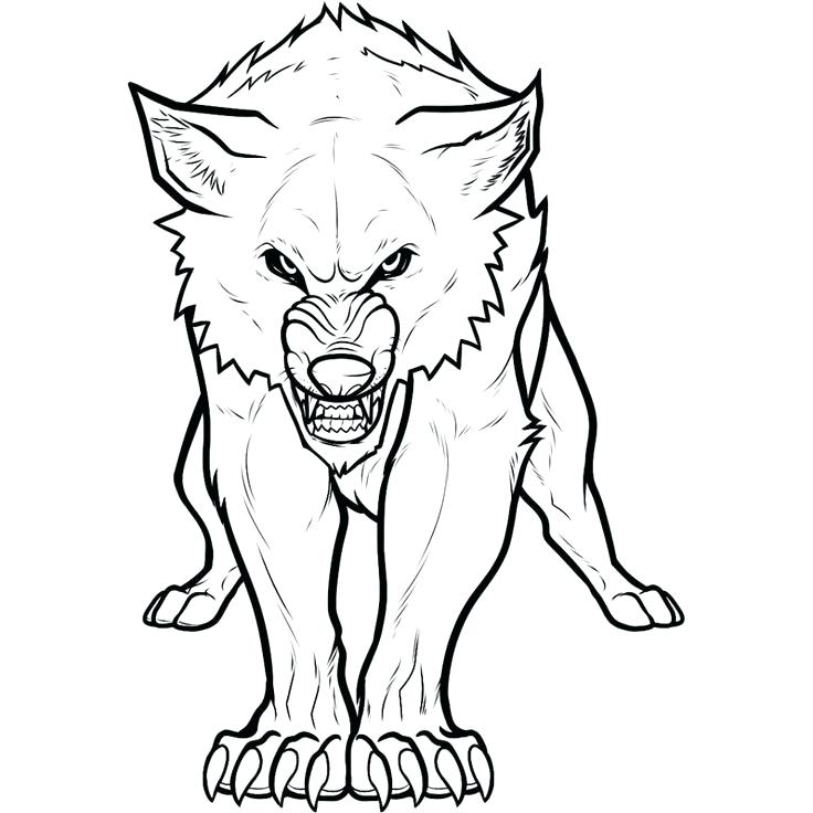 736x736 Howling Wolf Coloring Pages Wolf Wolf Howling In The Night