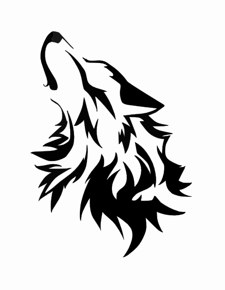 462x594 Wolf Howling