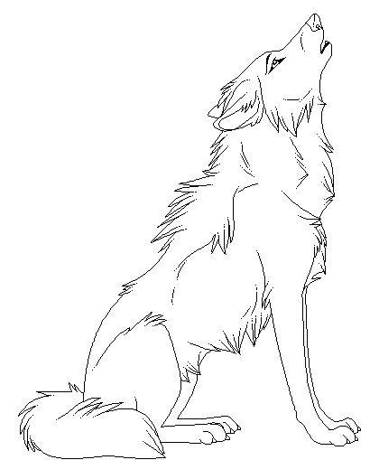 420x509 Coloring Pages Of Wolves Howling Realistic Fox Coloring Pages Pic