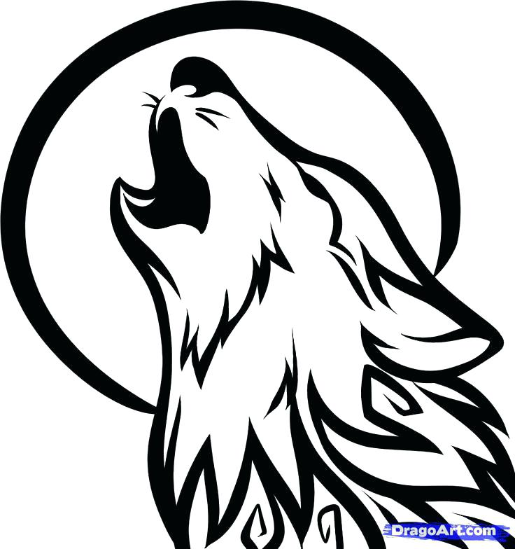 736x784 Howling Wolf Coloring Pages Wolf Coloring Pages Wolf Howling