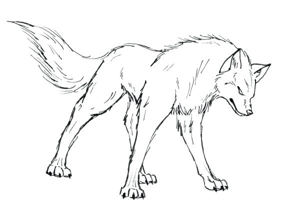 580x442 Wolf Howling Coloring Pages Angry Print Animal Of Page Zahlkarte