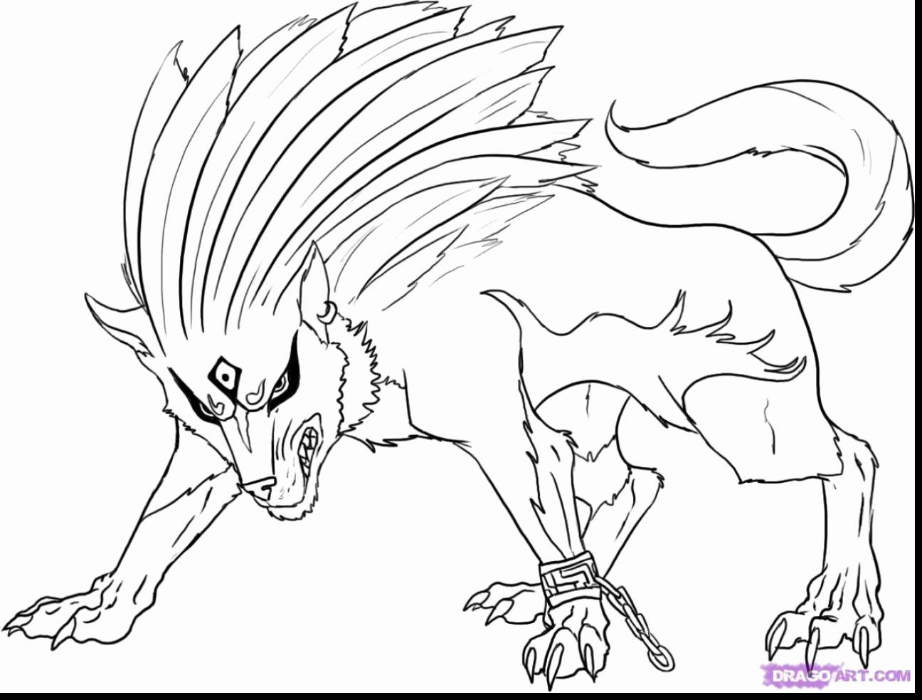 Wolf Link Coloring Pages