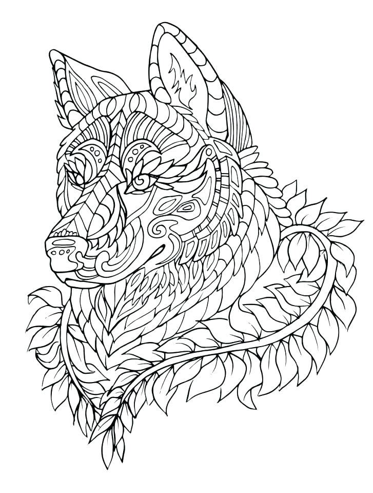 727x960 Anime Wolf Coloring Pages Wolf Coloring Pages Gray Page Wolf