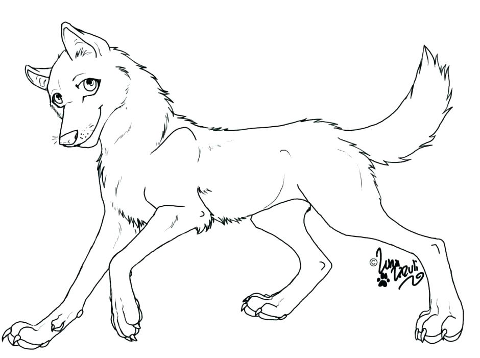 Wolf Pictures Coloring Pages At Getdrawings Free Download
