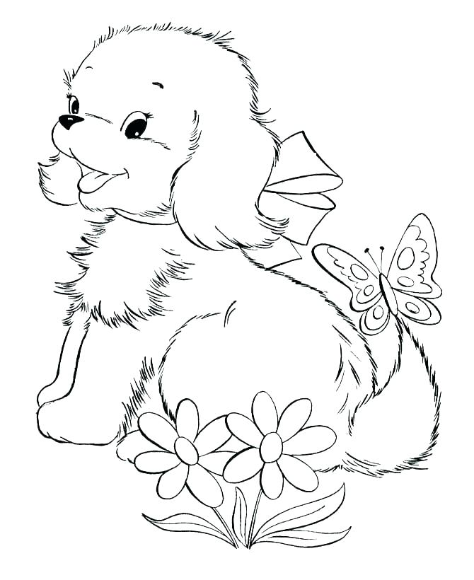 670x820 Wolf Pup Coloring Pages Coloring Page Of A Puppy Cute Coloring