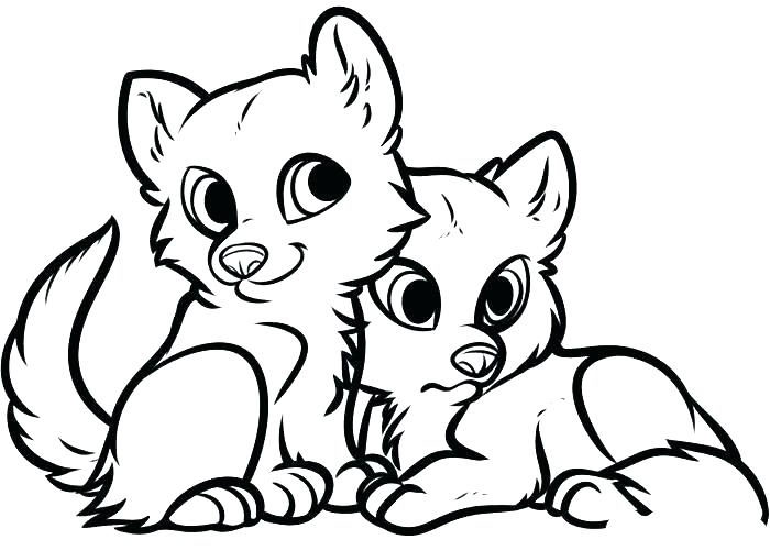 700x500 Coloring Pages Baby Wolf Wonderful Wolf Pup Coloring Pages