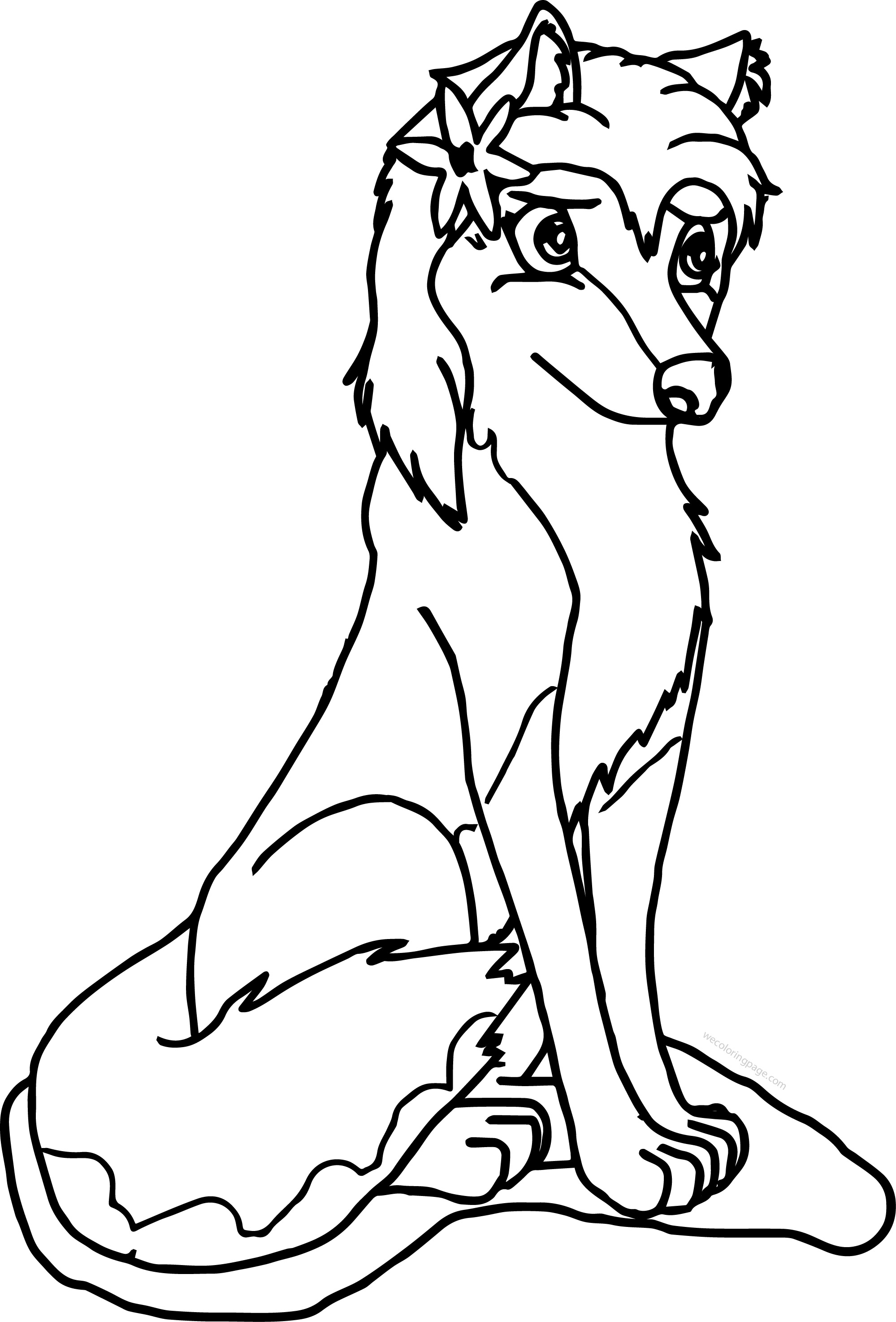1999x2948 Aleu Alpha And Omega Wolf Coloring Page Wecoloringpage