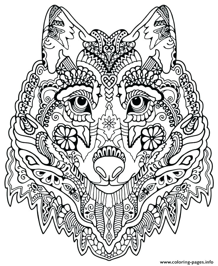 736x896 Coloring Pages Of Wolves As Well As Baby Wolf Coloring Pages Wolf