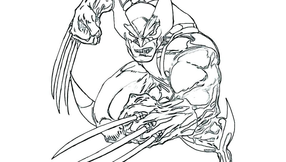 Wolverine Animal Coloring Pages at GetDrawings | Free download