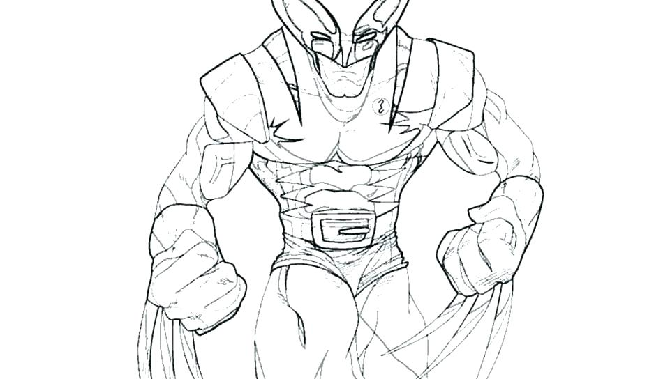 960x544 Wolverine Coloring Pages Wolverine Coloring Pages With Wolverine