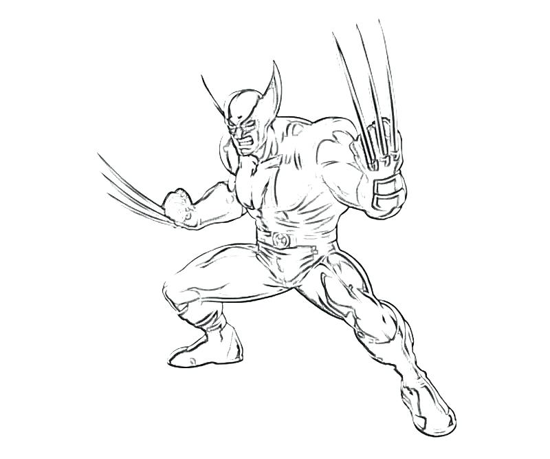 800x667 Wolverine Coloring Wolverine Printable Coloring Pages Wolverine