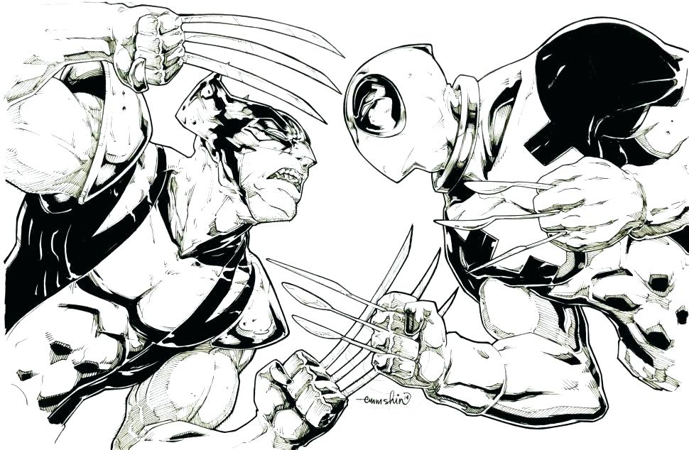 970x634 Wolverine Color Pages Wolverine Coloring Pages Wolverine Color