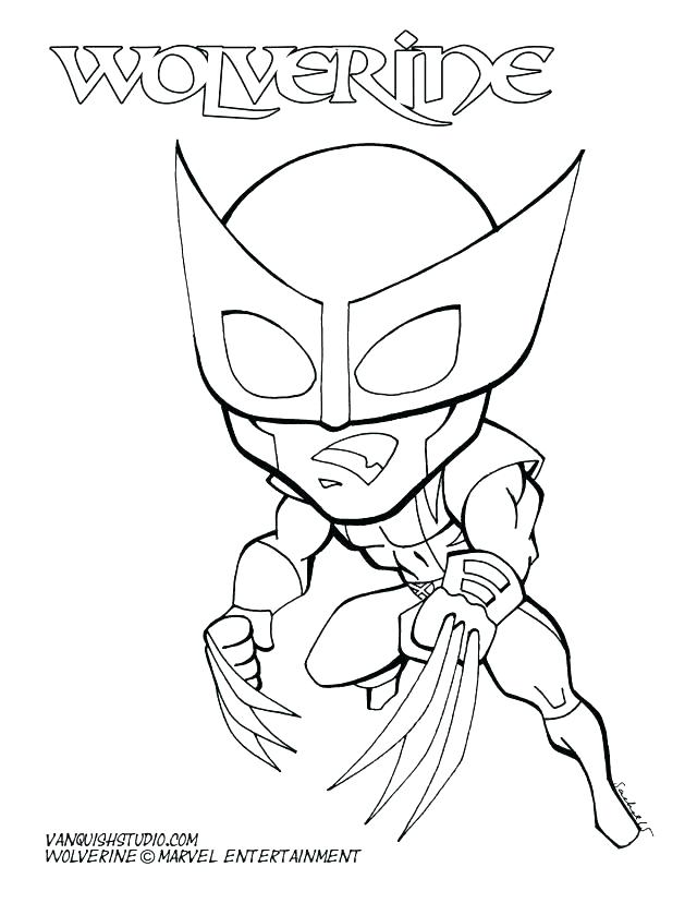 640x828 Wolverine Coloring Page Cool Wolverine Coloring Pages Kids Cartoon